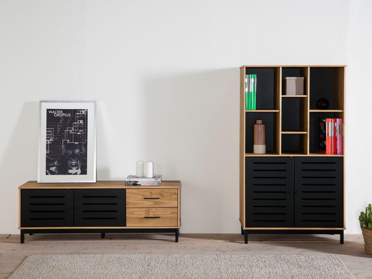 Habitacion con cama abatible affordable amueblar una - Camas empotradas en armario ...
