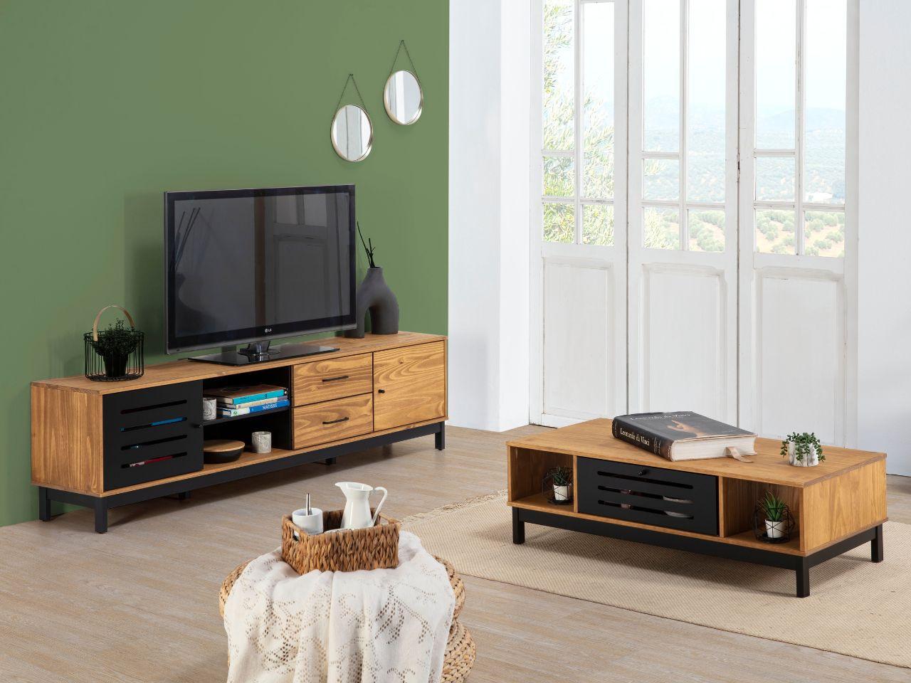 cama juvenil blanco y madera