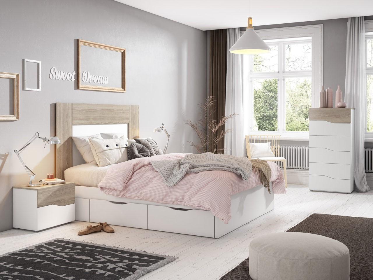 camas de matrimonio modernas