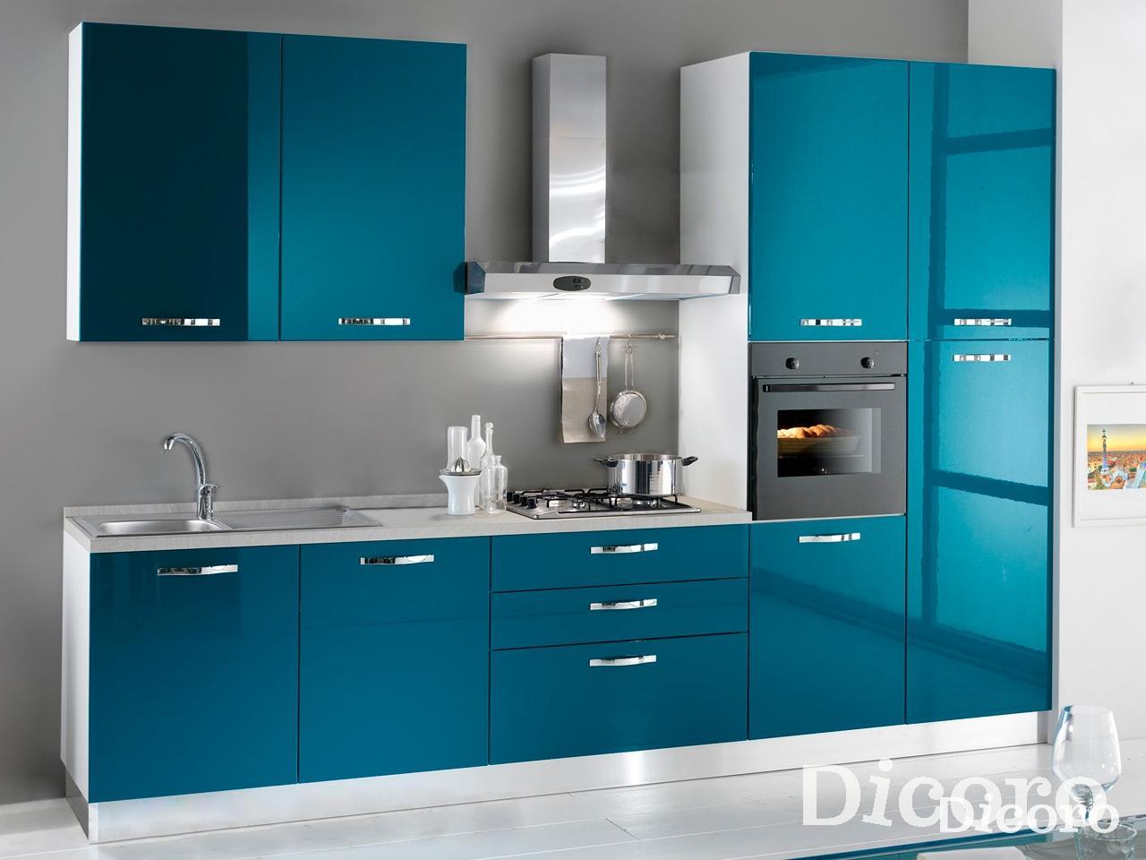 Una cocina a todo color blog con ideas de decoracion - Precio cocina completa ...