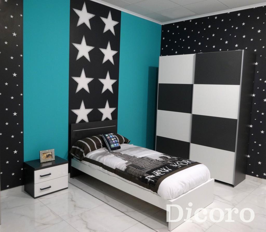 Decorar la habitaci n con un aire informal y juvenil - Decorar paredes habitacion juvenil ...