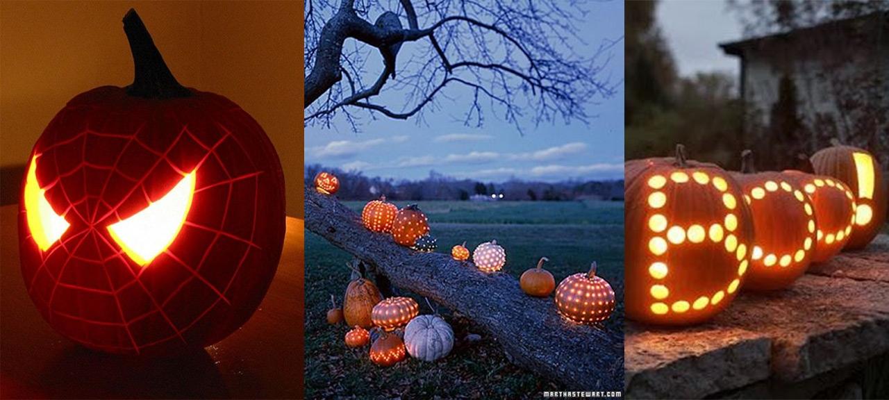 Decoraci n halloween - Decoracion calabazas halloween ...
