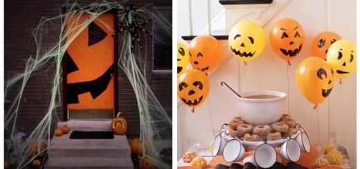 Las 8 mejores ideas para decorar en halloween - Decoracion calabazas halloween ...