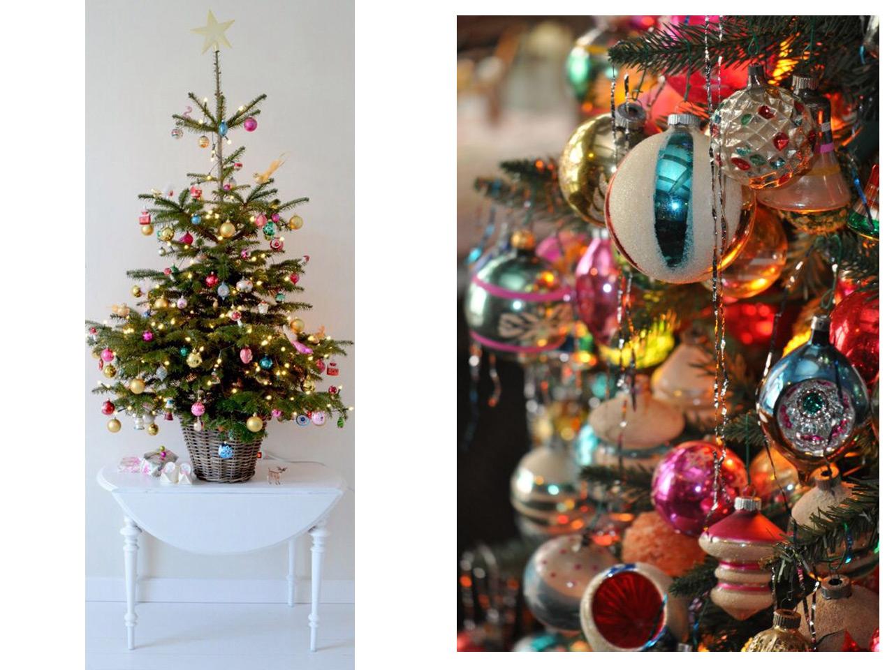 Decoraci n vintage para navidad ideas para decorar - Bolas gigantes de navidad ...