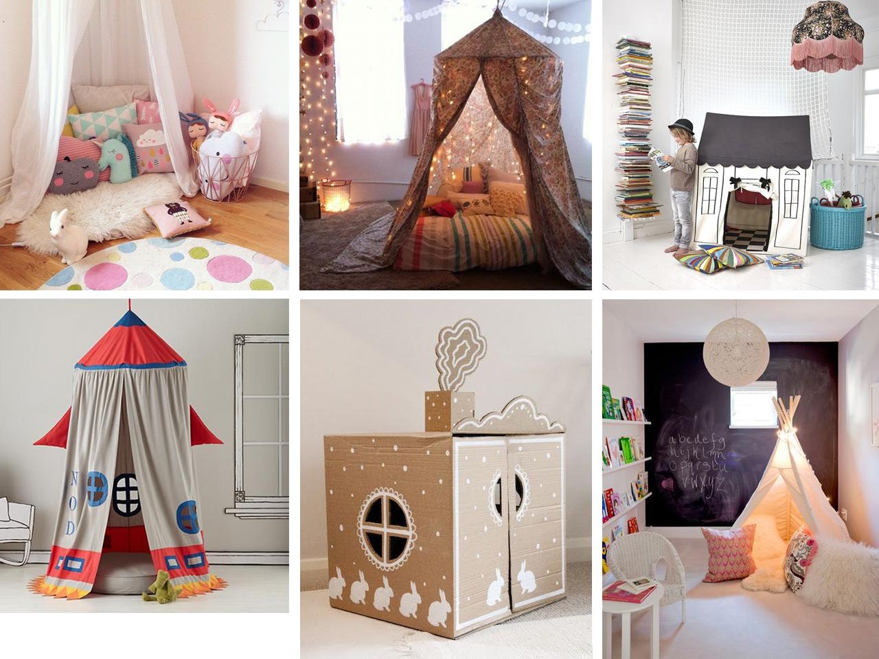 Rincones m gicos de lectura inspiraci n y mobiliario infantil - Como decorar un sobre ...