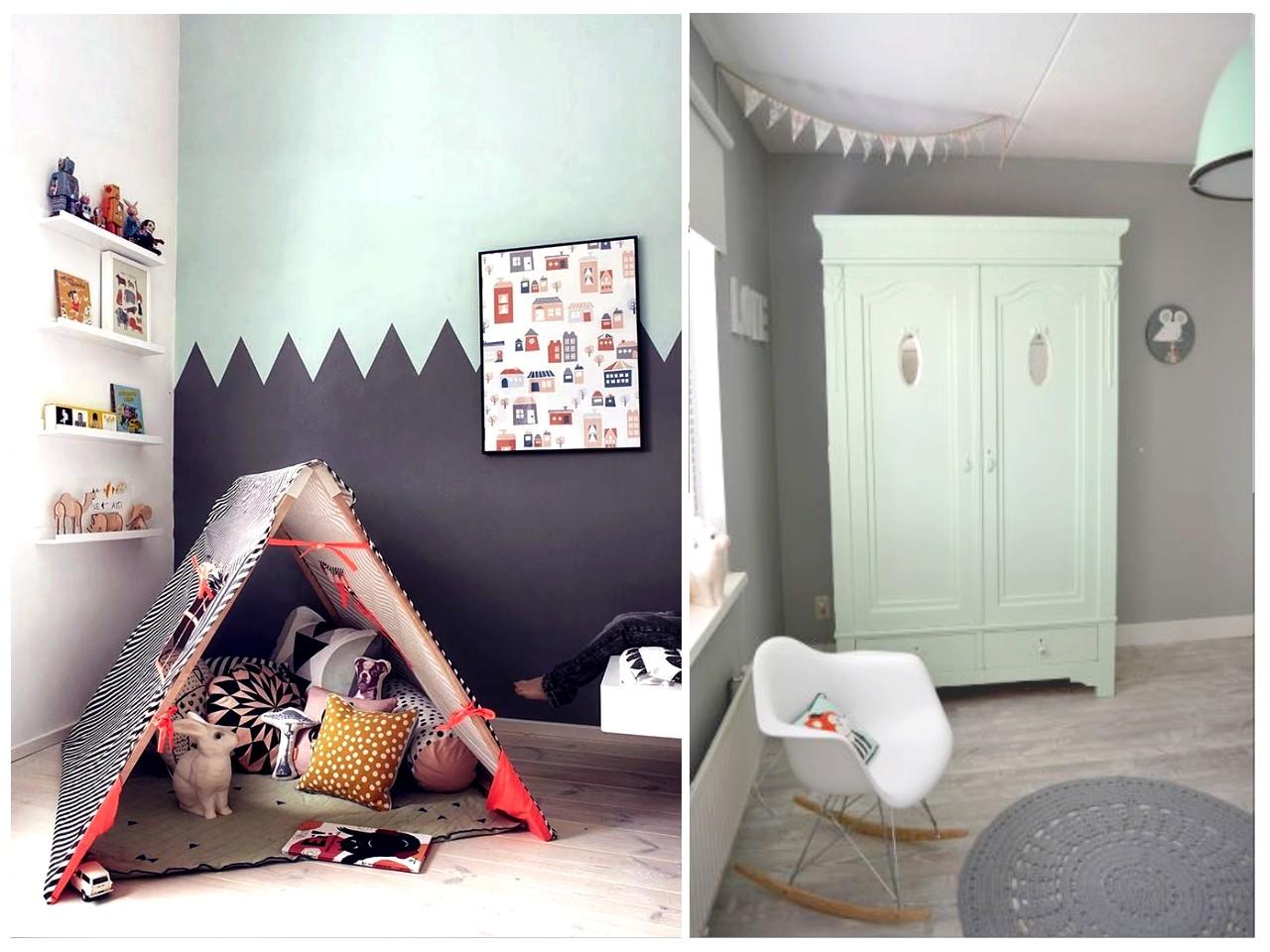 Habitaciones infantiles el gris no tiene porque ser - Sillas para habitacion ...