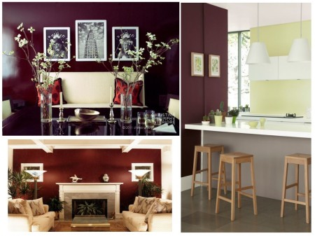 Tendencias decoración rojos intensos: paredes