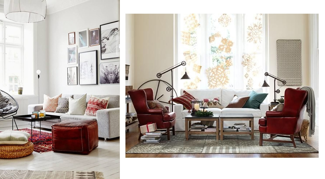 Tendencias decoraci n 2015 los rojos intensos for Pinterest decoracion salones