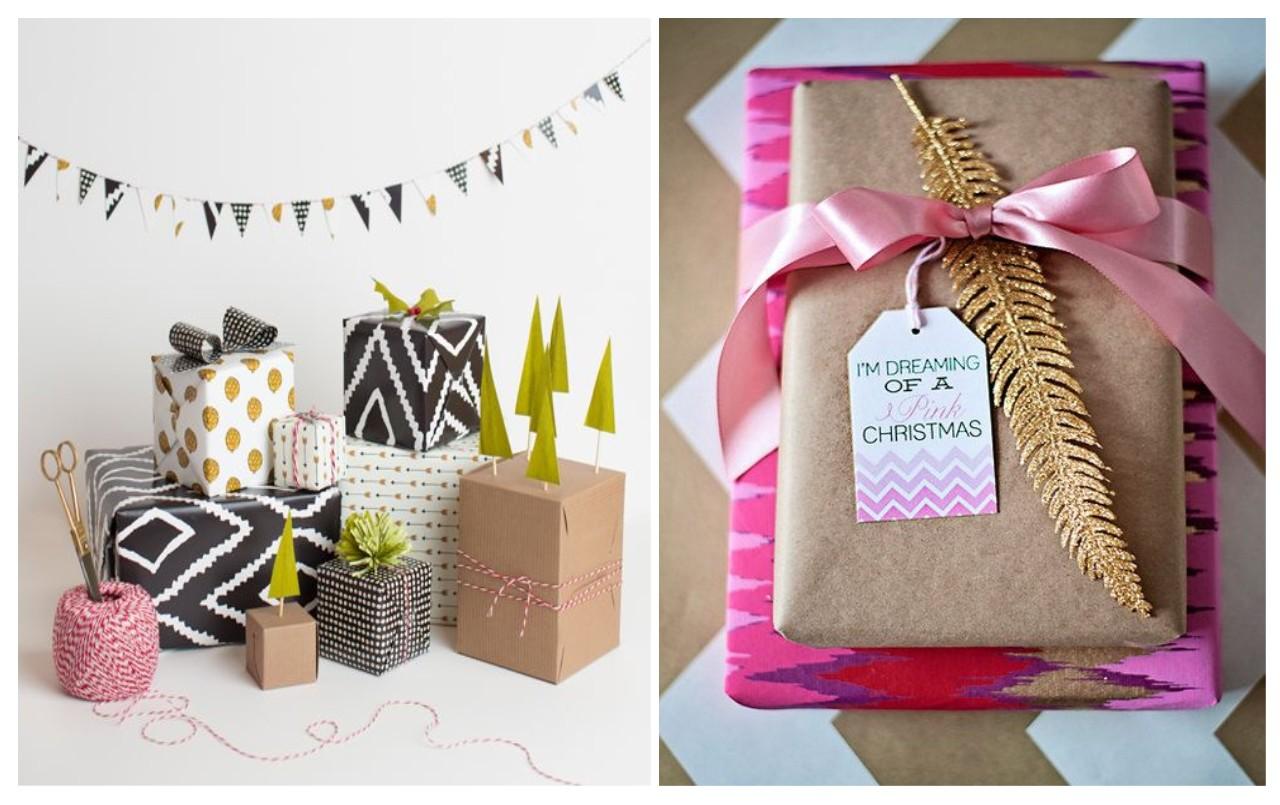 Decoraci n navidad otra forma de envolver es posible - Paquetes originales para regalos ...