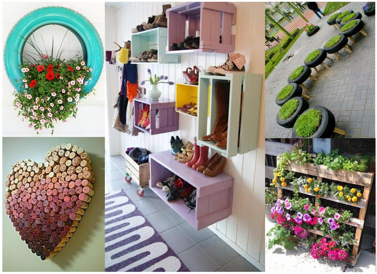 Ideas creativas para decorar tu cuarto reciclando - Decorar reciclando muebles ...