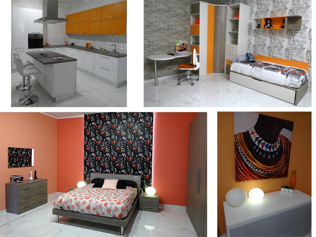 Decoración en color naranja : ambientes
