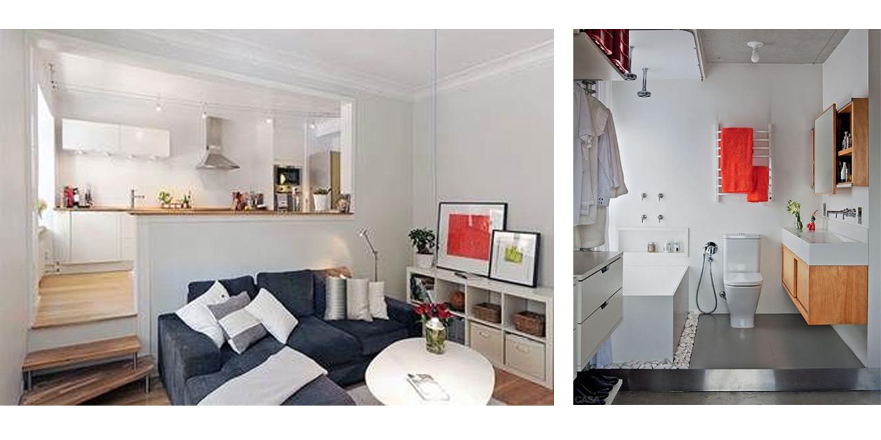 Dividir espacios abiertos con trucos decorativos for Casa y estilo decoracion