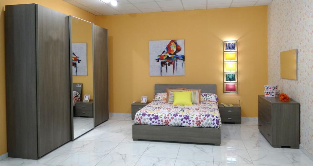 Dormitorio completo Minerva de Dicoro.