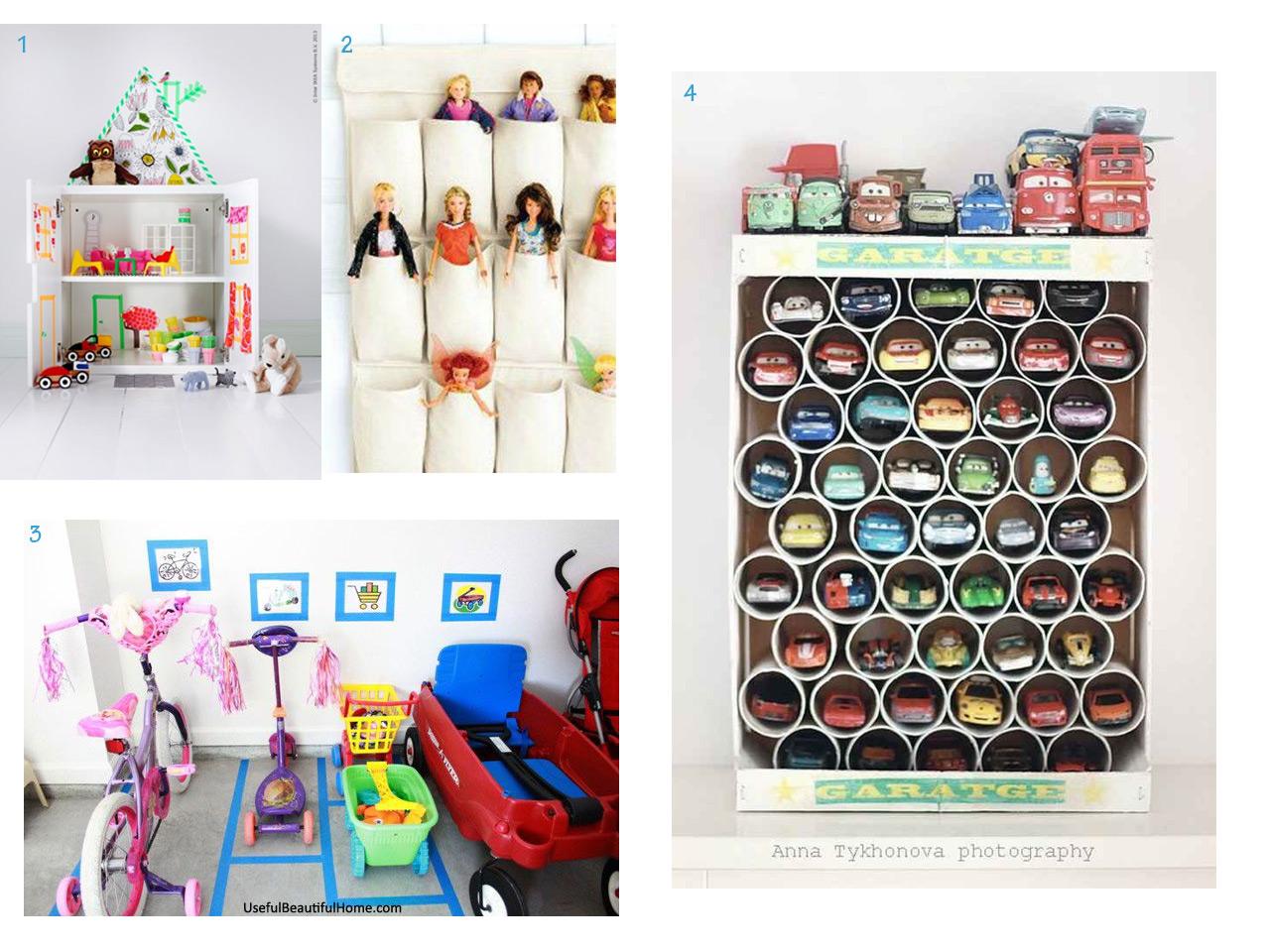 Muebles infantiles y fant sticas ideas para el cuarto de - Organizar habitacion ninos ...