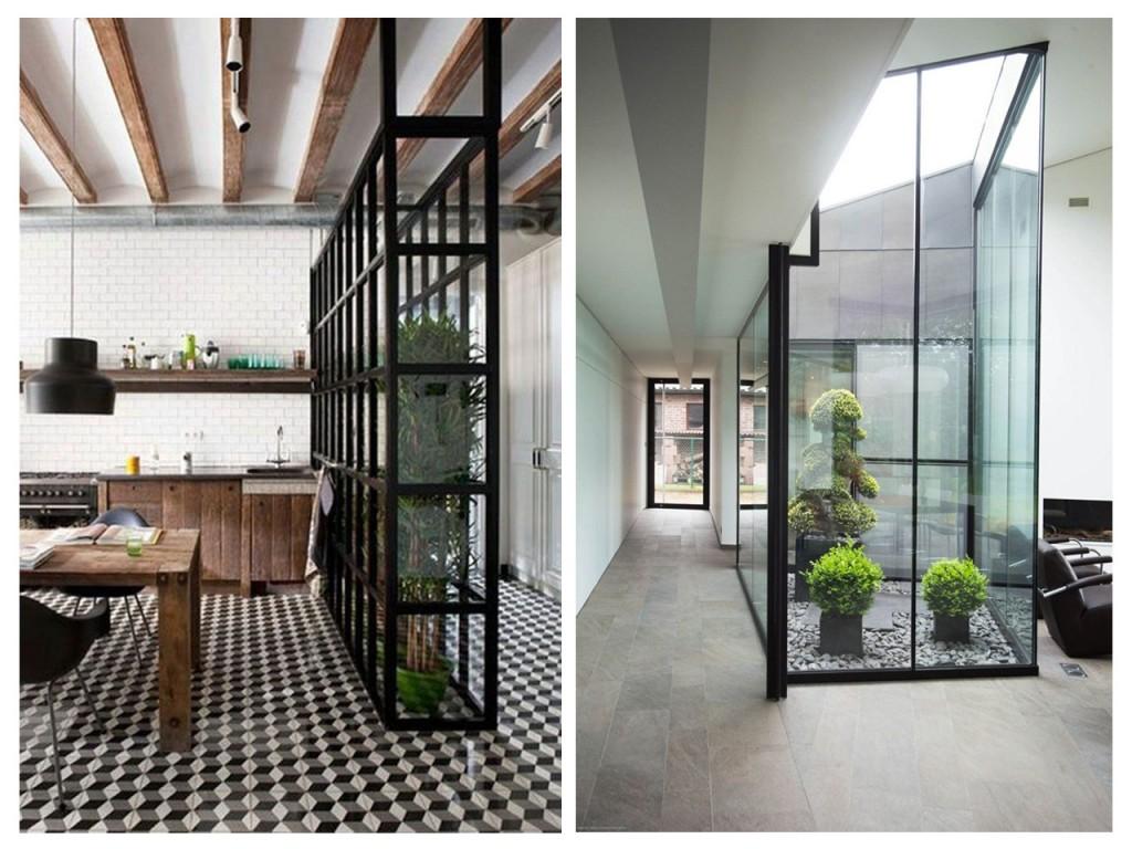 Dividir espacios abiertos con trucos decorativos for Decoracion de espacios pequenos con plantas
