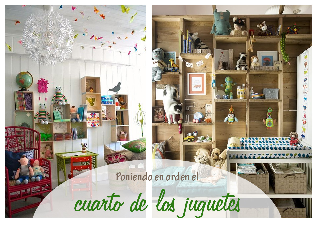 Muebles infantiles y fant sticas ideas para el cuarto de for Como decorar un mural