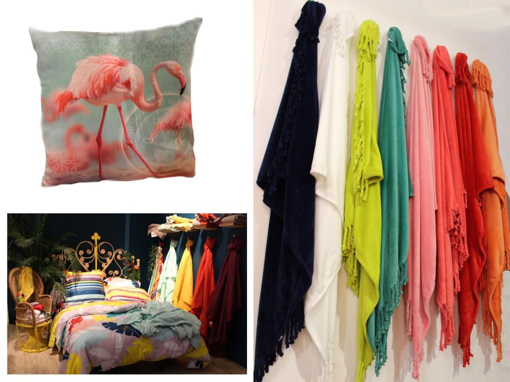 estampados de moda : colores tropicales