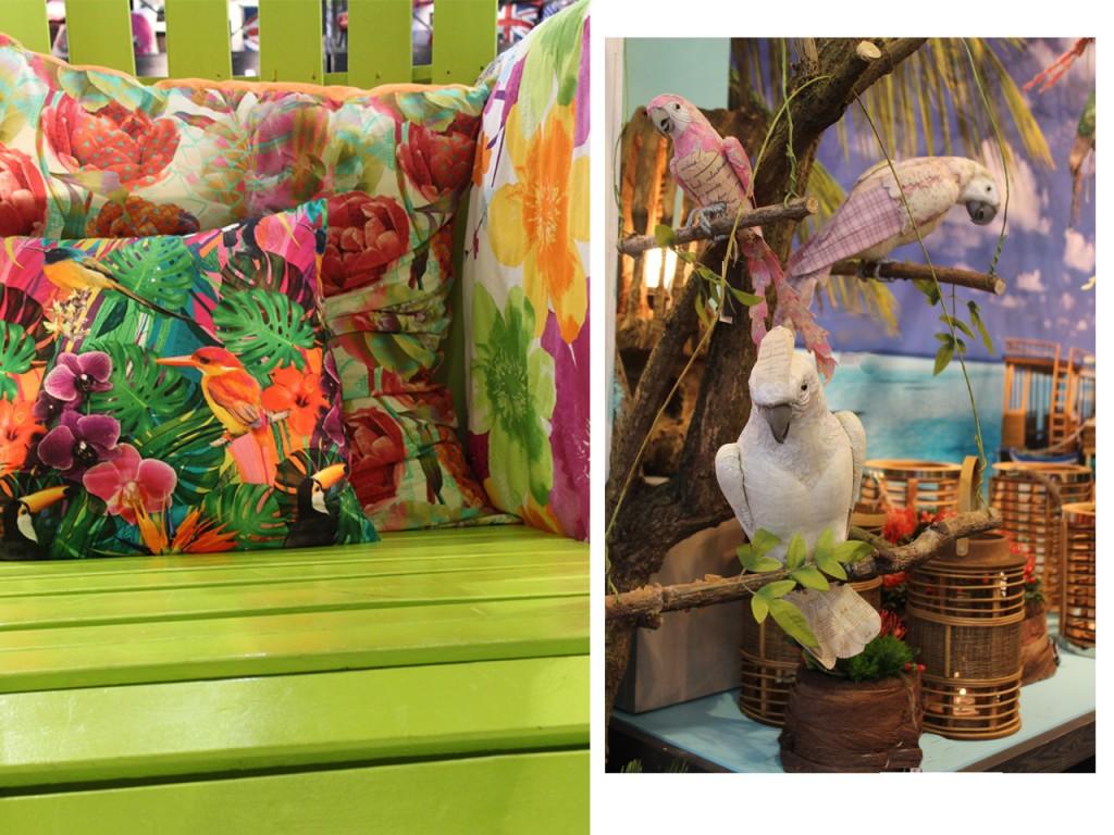 estampados de moda : tropical