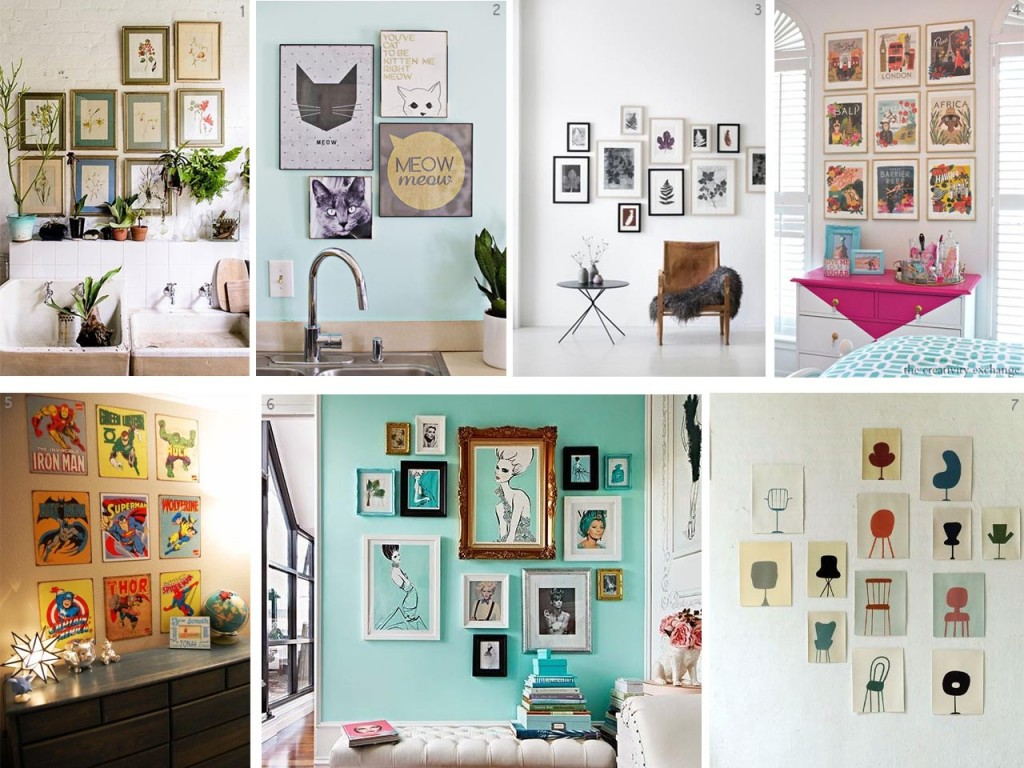 5 tips para decorar con cuadros originales for Adornos originales para decorar casa