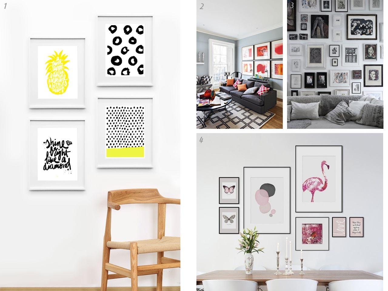 5 tips para decorar con cuadros originales - Cuadros originales para dormitorio ...