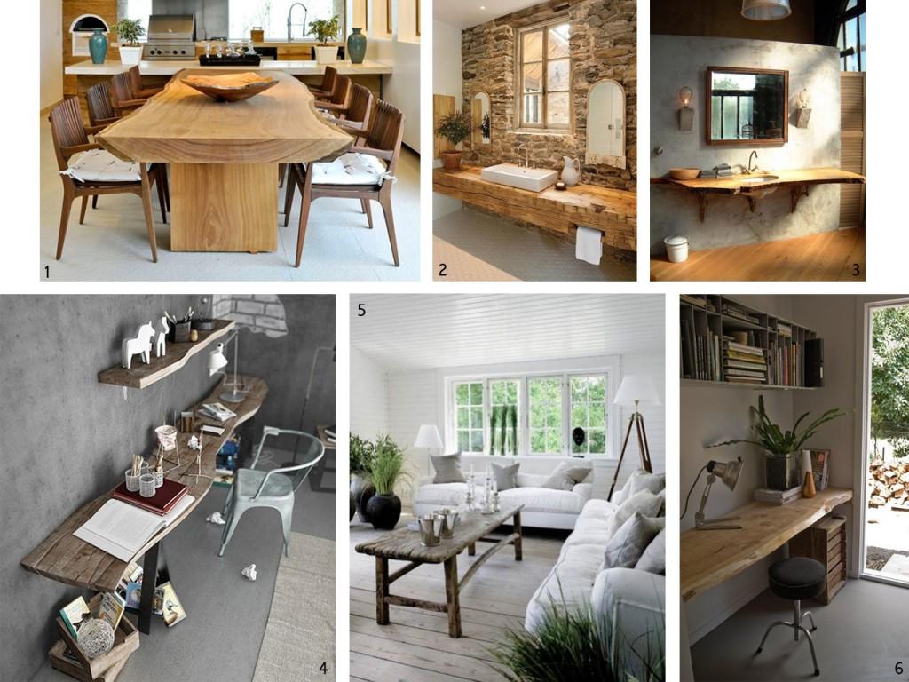 El bosque en casa ramas troncos y manualidades en madera for Manualidades decoracion casa