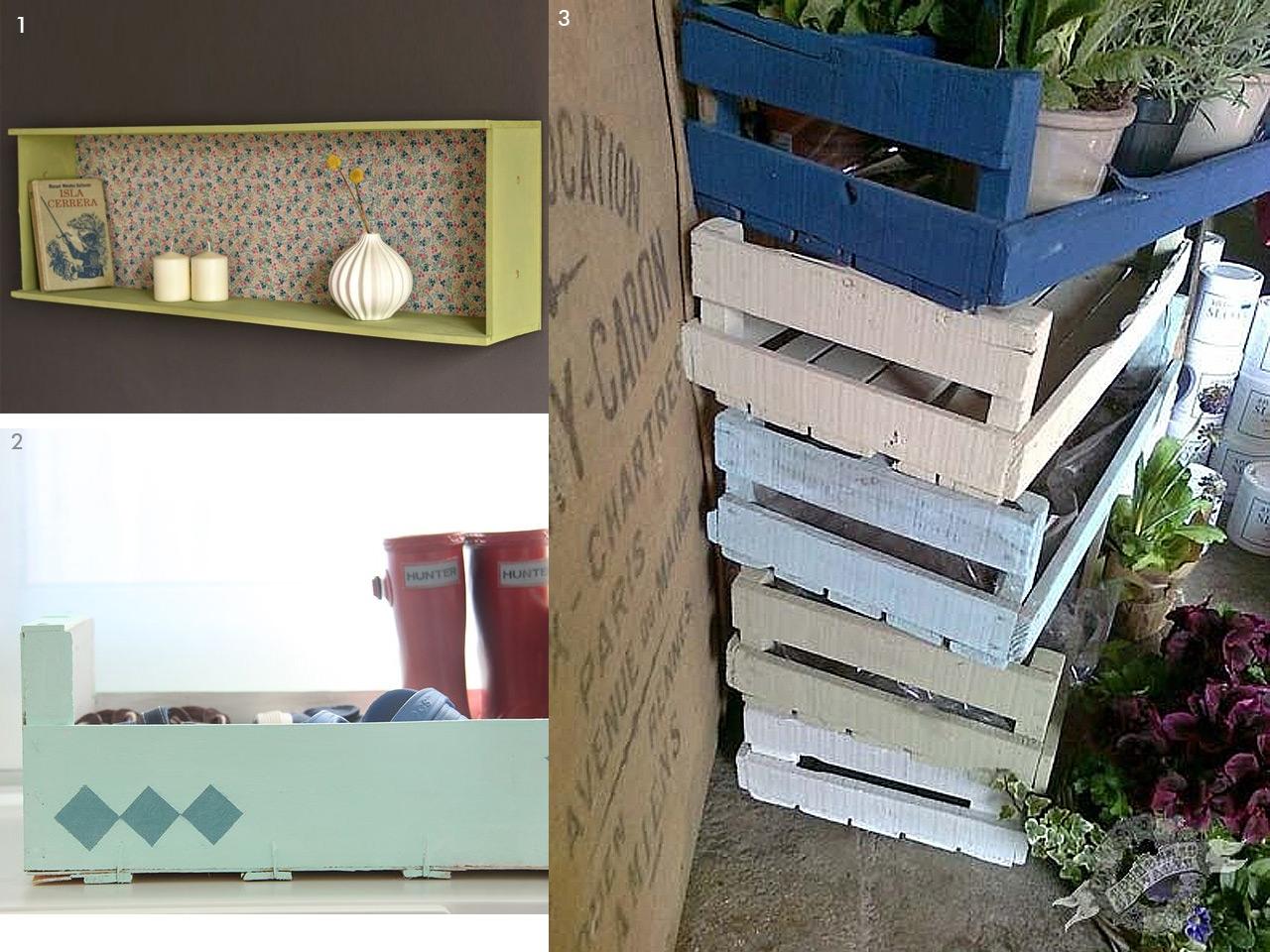 Chalk paint las pinturas a la tiza m s chulas y f ciles - Como decorar una caja de metal ...