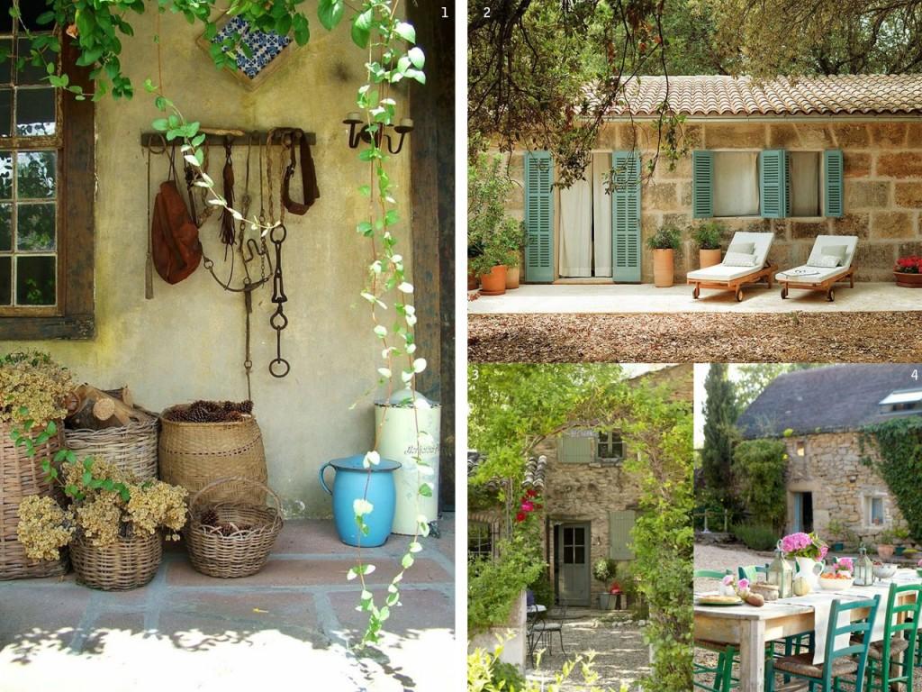 Decoraci n de casas de campo de estilo r stico en 6 pasos - Exteriores de casas rusticas ...