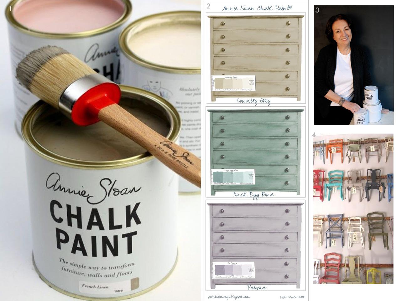 chalk paint las pinturas a la tiza m s chulas y f ciles