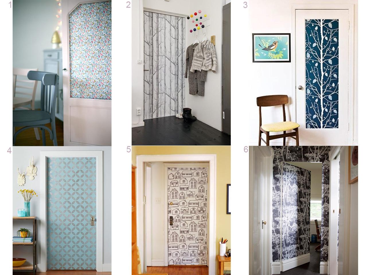 Propuestas diferentes para decorar con papel pintado - Papel decorativo para paredes ...