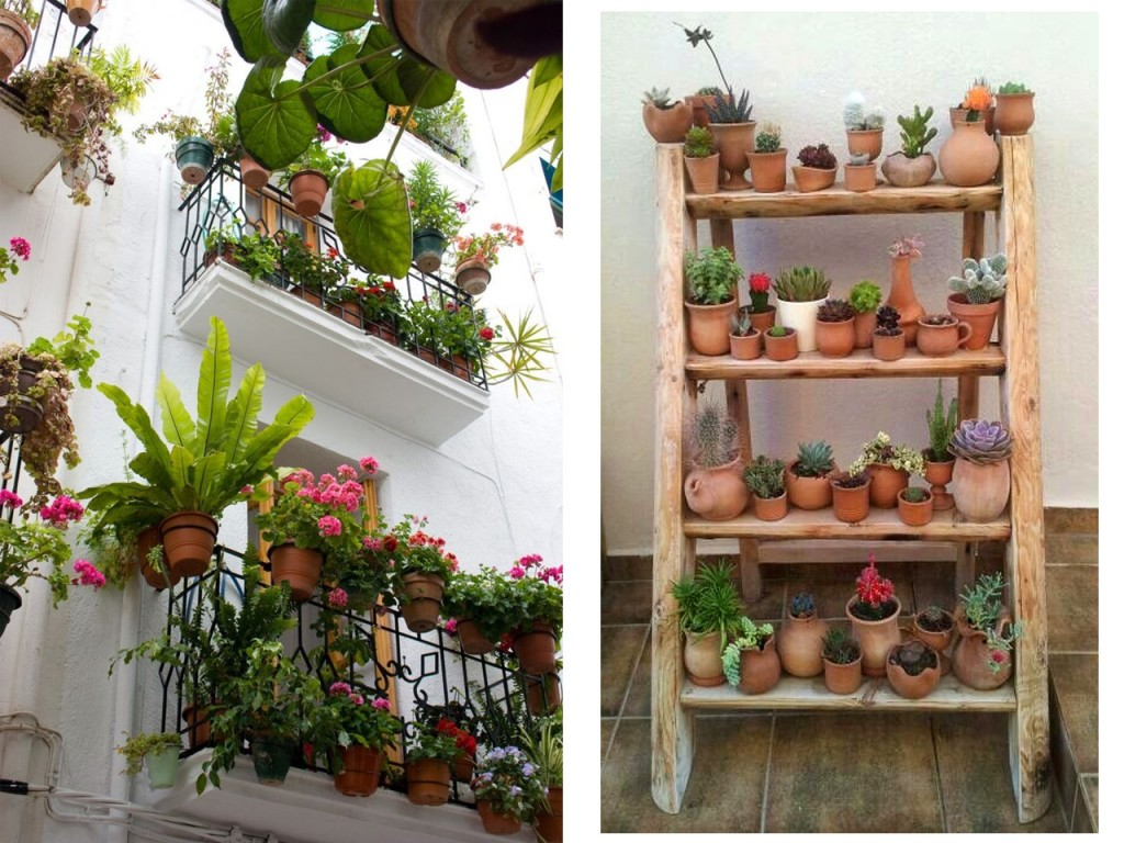 5 consejos para decorar balcones peque os con encanto for Departamentos decorados con plantas