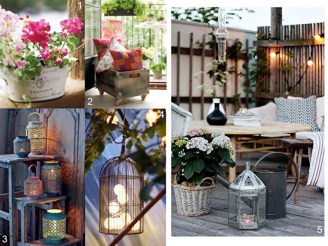 5 consejos para decorar balcones peque os con encanto - Jardines en la terraza ...