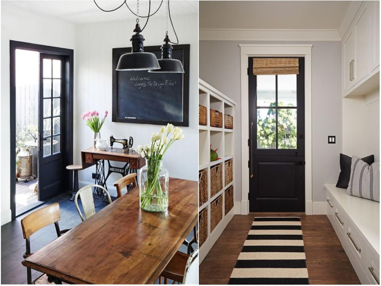 C mo pintar las puertas de casa ideas e inspiraci n for Adornos para entrada de casa