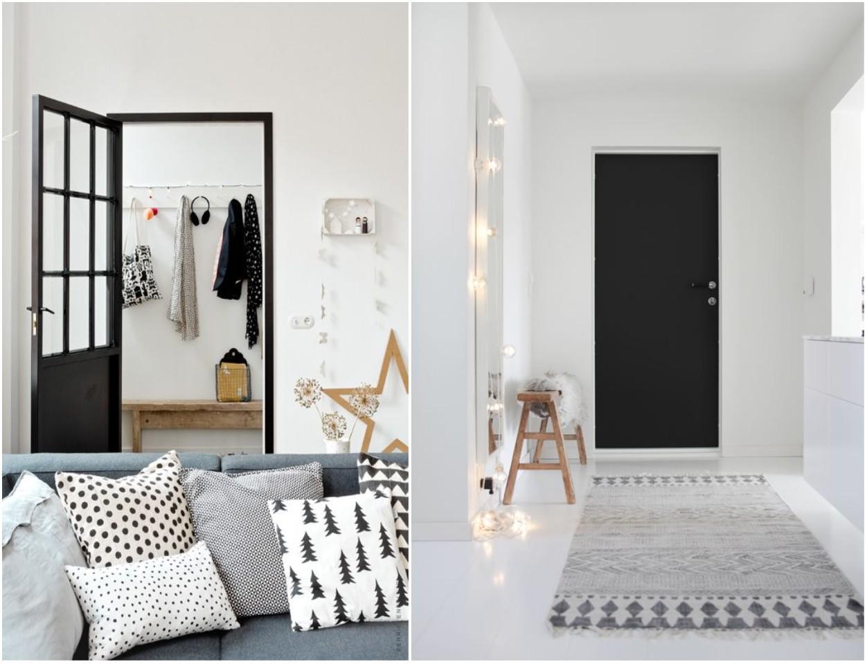 C mo pintar las puertas de casa ideas e inspiraci n - Paredes lacadas ...