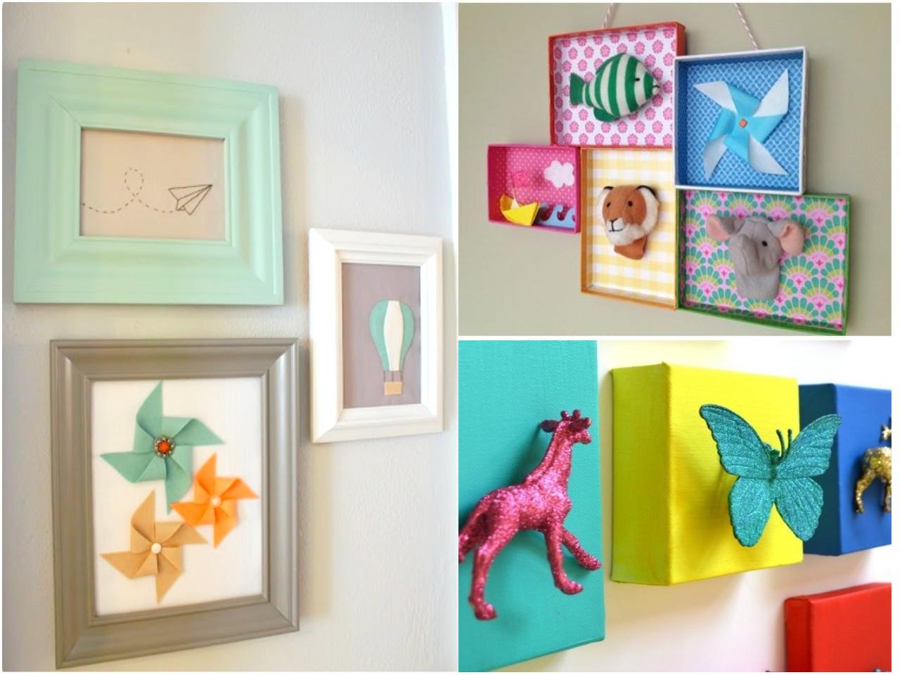 12 ideas econ micas para decorar habitaciones infantiles for Formas para decorar un cuarto