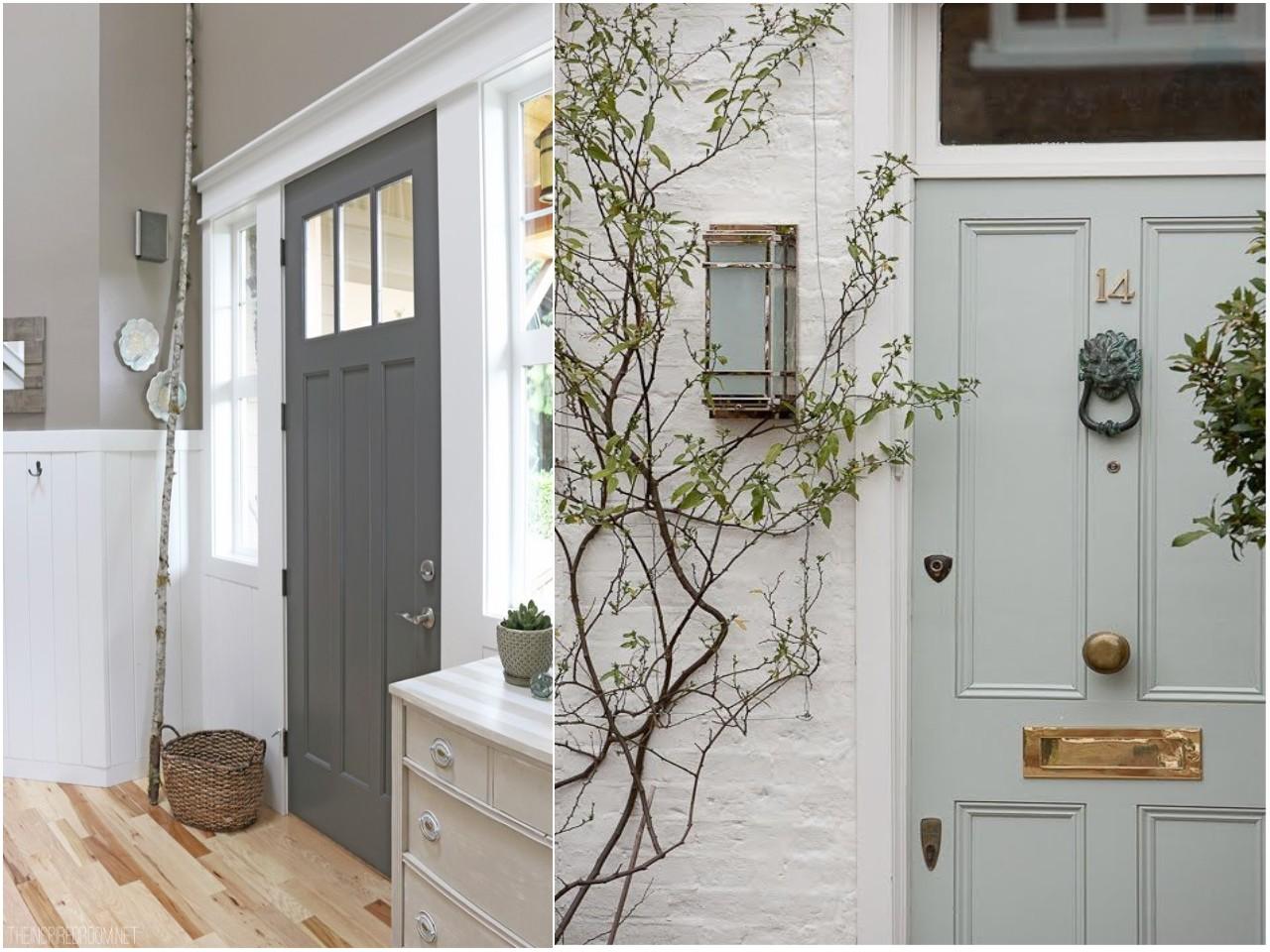 C mo pintar las puertas de casa ideas e inspiraci n for Colores para puertas exteriores