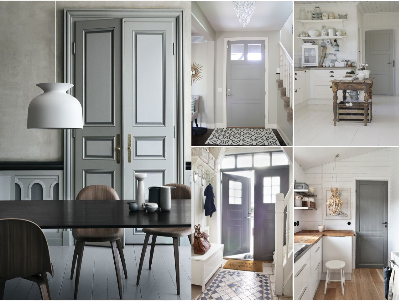 C mo pintar las puertas de casa ideas e inspiraci n - Ideas para pintar casa ...
