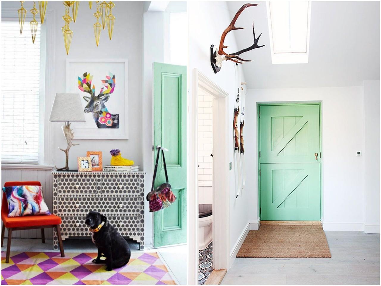 C mo pintar las puertas de casa ideas e inspiraci n for De que color puedo pintar los marcos de las puertas