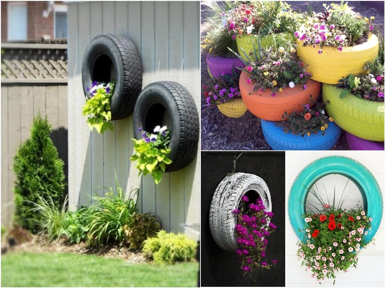13 mini jardines originales para una primavera diferente for Decoracion mesas de jardin