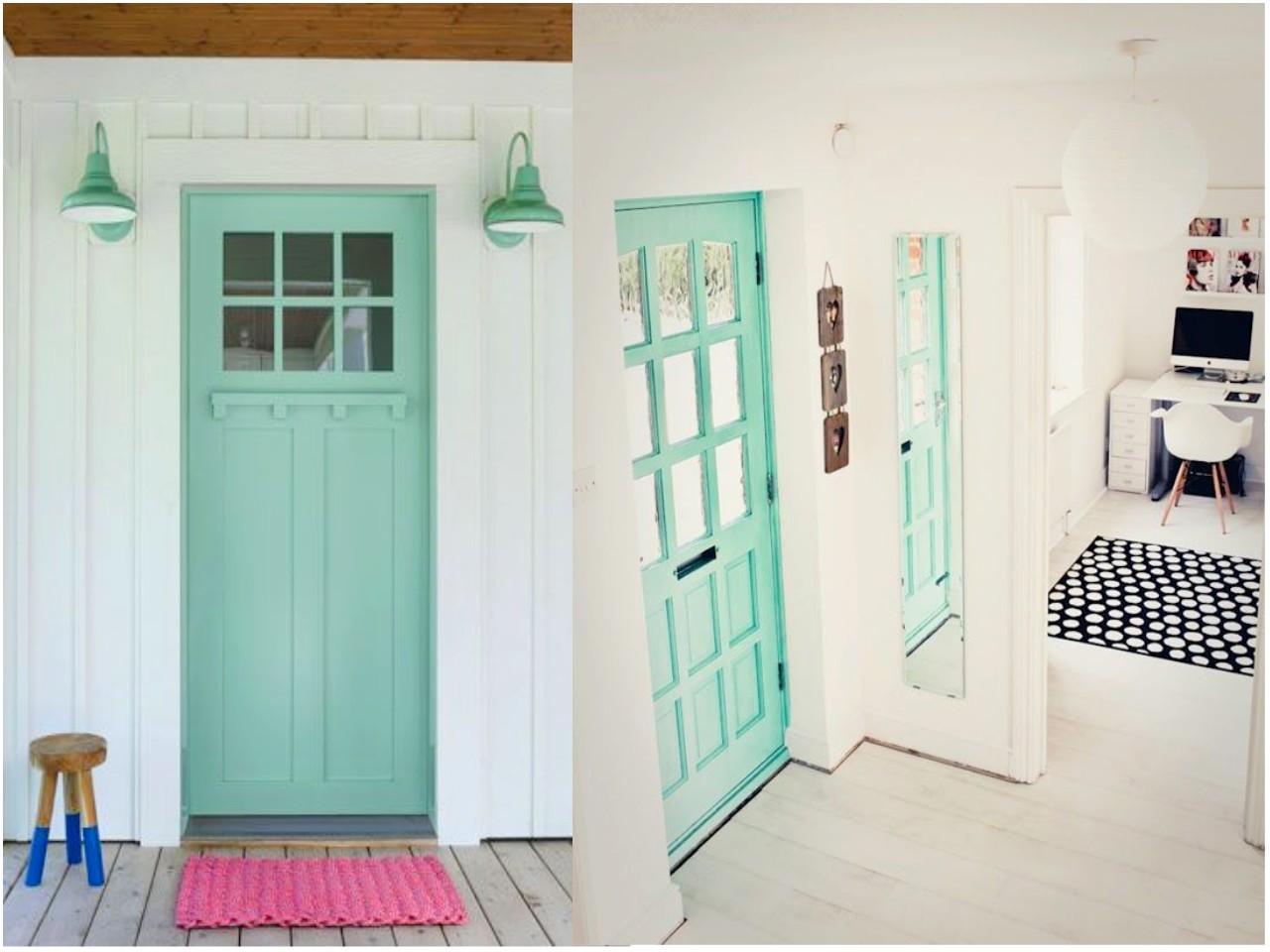 c mo pintar las puertas de casa ideas e inspiraci n