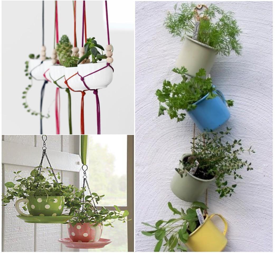 13 mini jardines originales para una primavera diferente for Como hacer adornos para el jardin