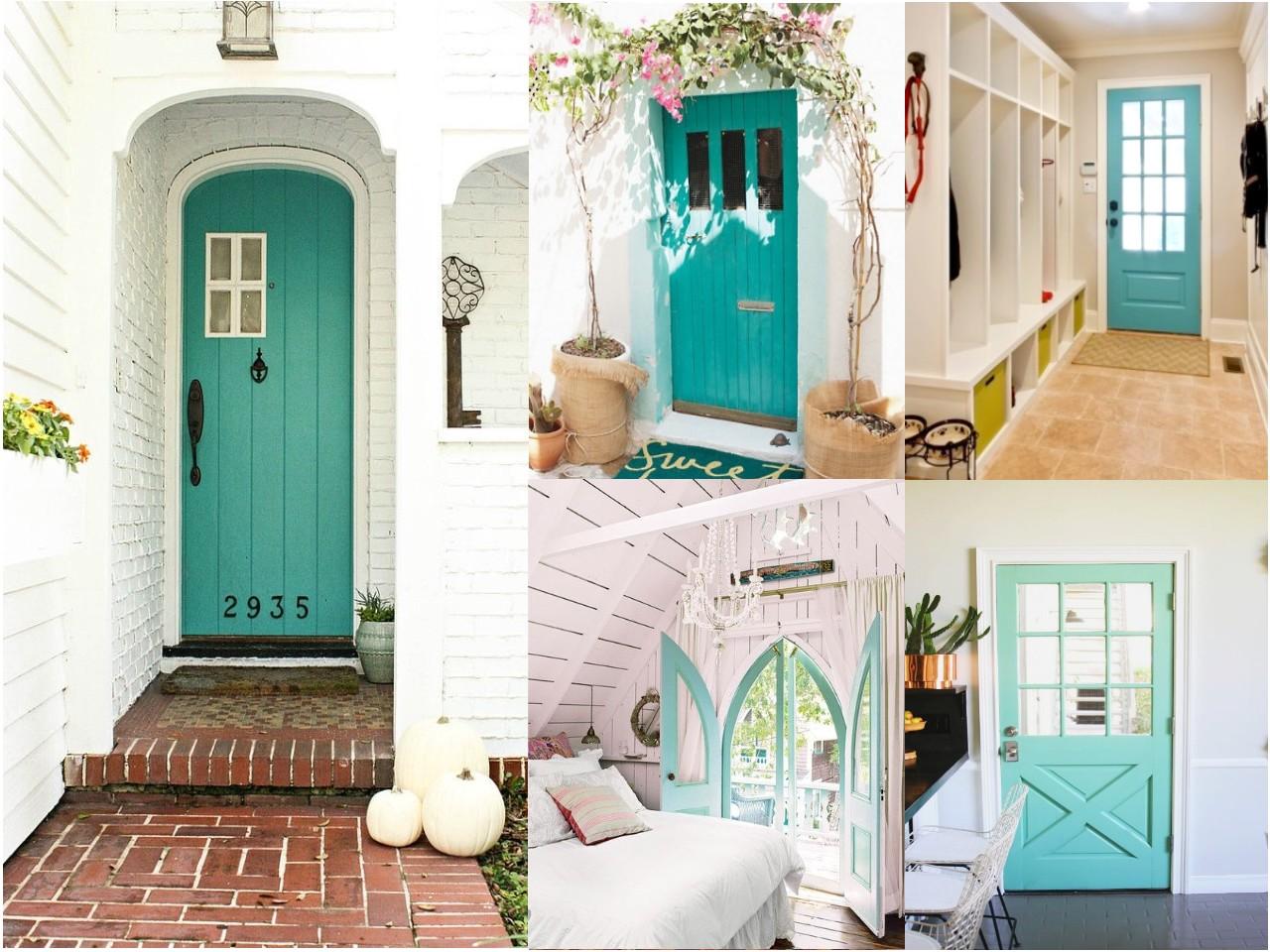 C mo pintar las puertas de casa ideas e inspiraci n - Como se hace el color turquesa ...