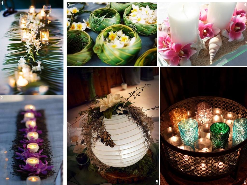 6 estilos diferentes para decorar con centros de mesa - Fotos para decorar ...