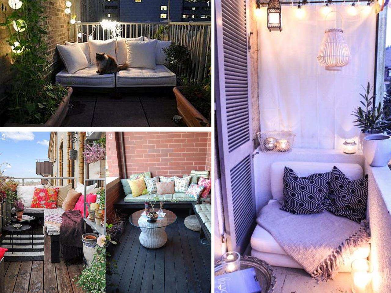 5 consejos para decorar balcones peque os con encanto - Decorar terraza chill out ...