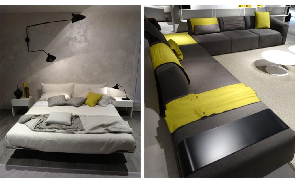Imágenes vistas en la feria de muebles de Milán 2015.