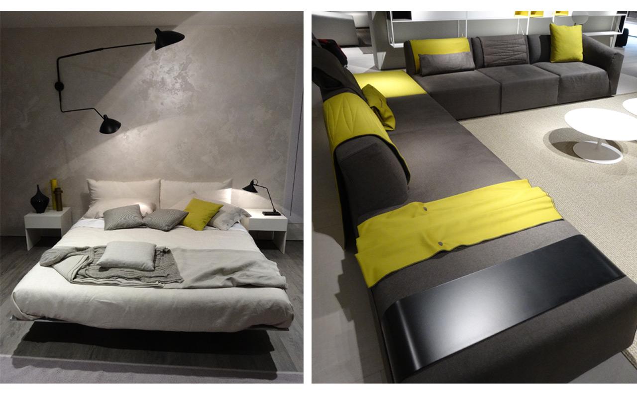 Atr vete con una decoraci n en color mostaza for Que es un canape mueble