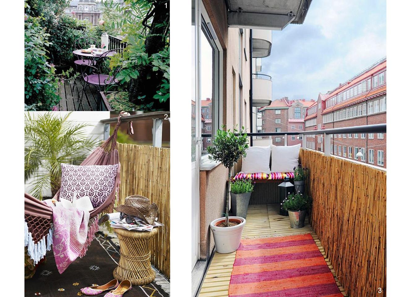 5 consejos para decorar balcones peque os con encanto - Como cerrar una terraza ...