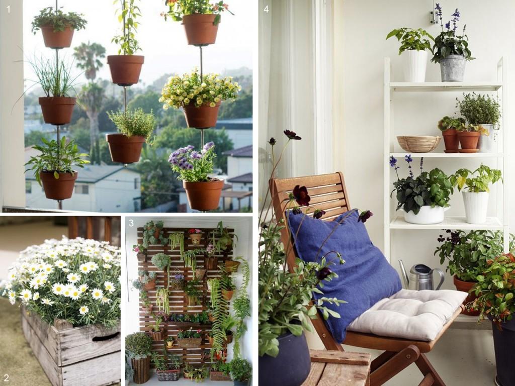 5 consejos para decorar balcones peque os con encanto Jardines verticales para patios pequenos