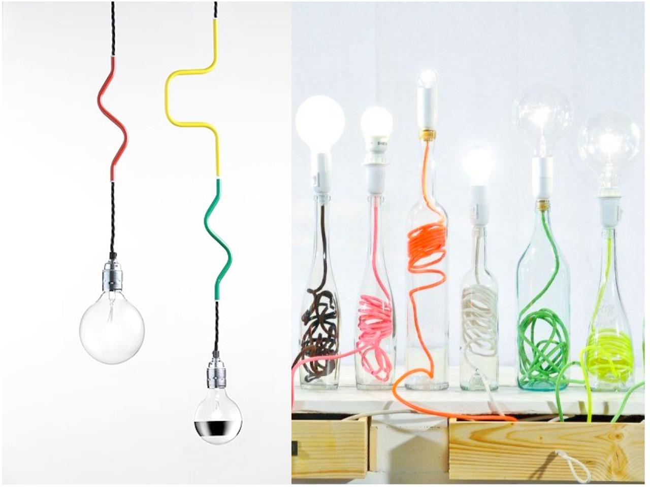Esconder cables...u00bfo decorar con ellos?