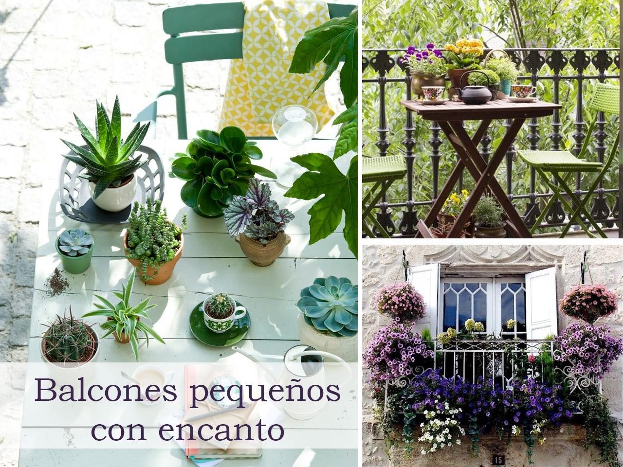 5 consejos para decorar balcones peque os con encanto - Jardines pequenos con encanto ...