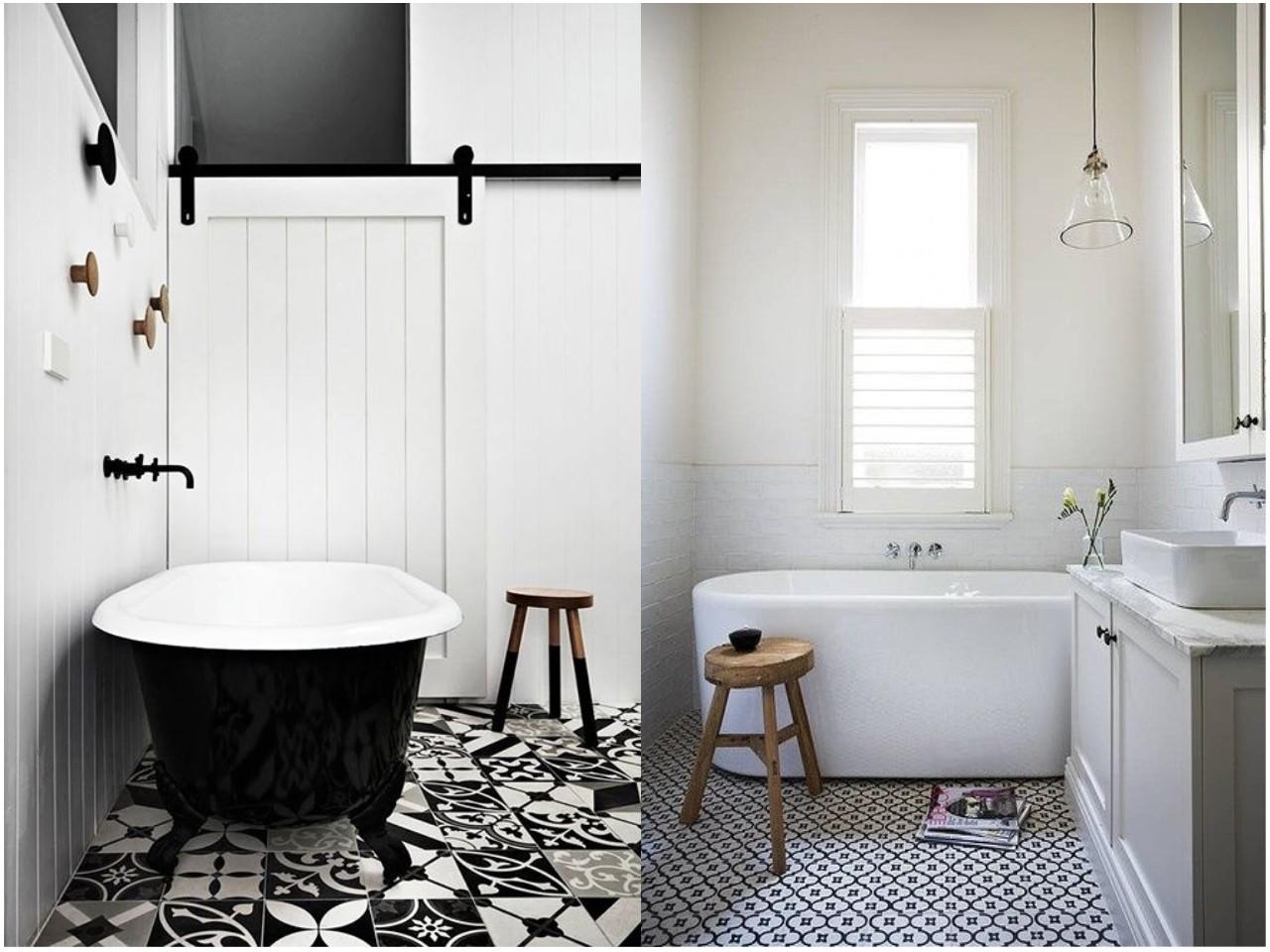 8 ideas trending para decorar ba os con estilo - Baldosas para banos ...